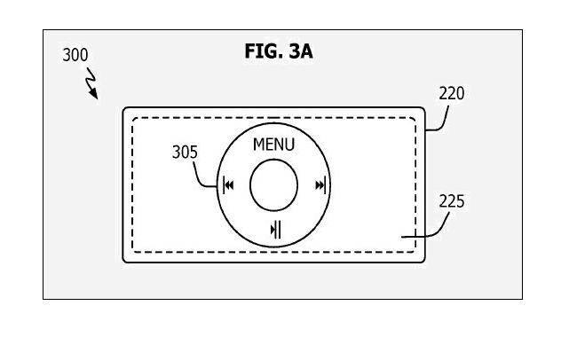 Stunning Nano-Phone Surfaces in Patent - fig 3A - July 2009