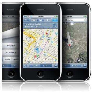 Apple website graphic iPhone navigation