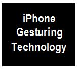 IPhone Gesturing Technology ICON