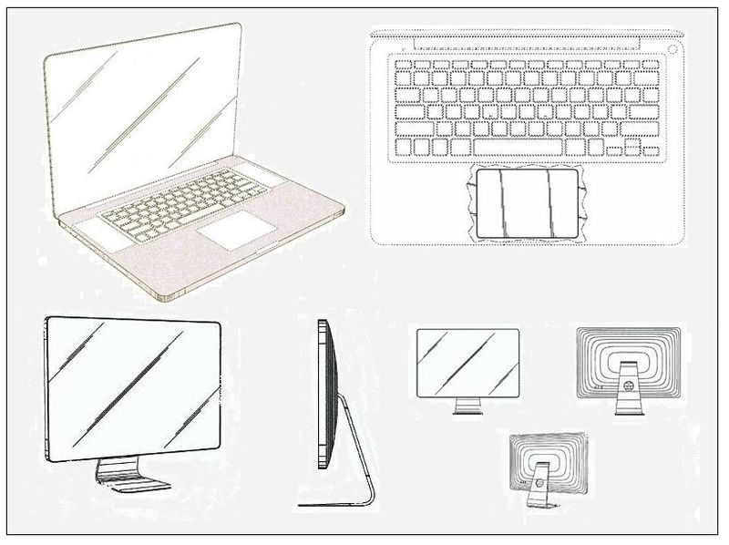 Granted patents for MacBook Pro and LED CINEMA DISPLAY