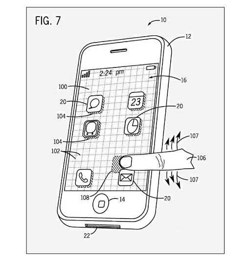 Motion Compensation for Screens Patent - FIG 7