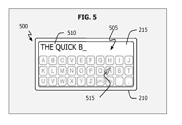 Stunning Nano-Phone Surfaces in Patent - fig 5 - July 2009