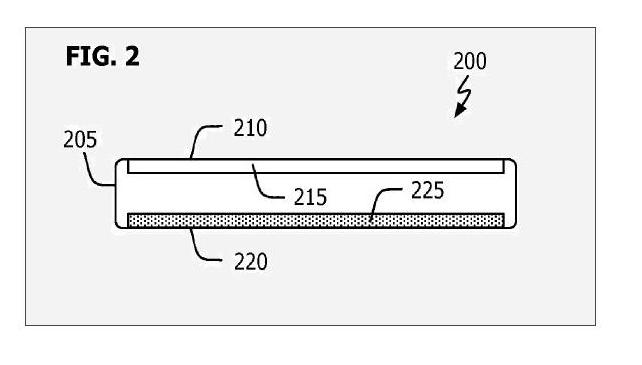 Stunning Nano-Phone Surfaces in Patent - FIG. 2 - July 2009