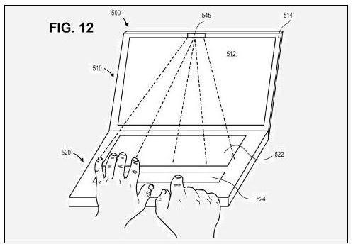 Wide Multi-Touch Trackpad fig 12