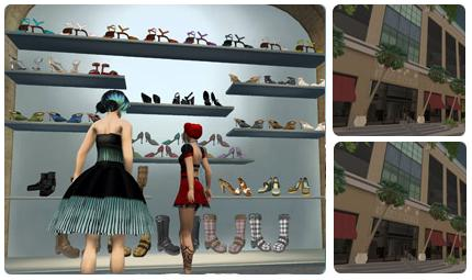 2 - SECOND LIFE STORE GRAPHIC
