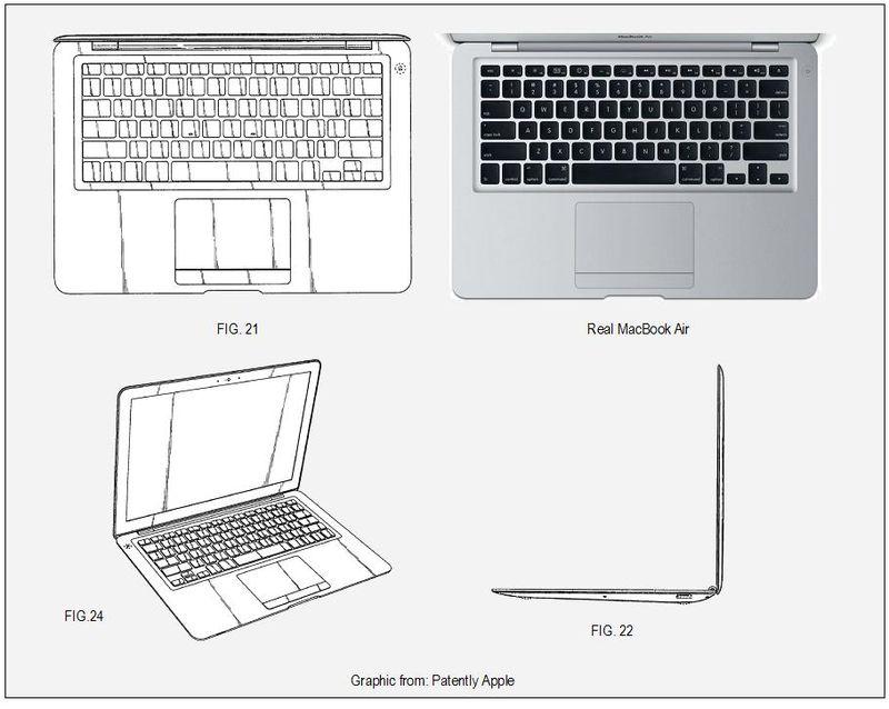 MacBook Air Industrial Design Win 2009