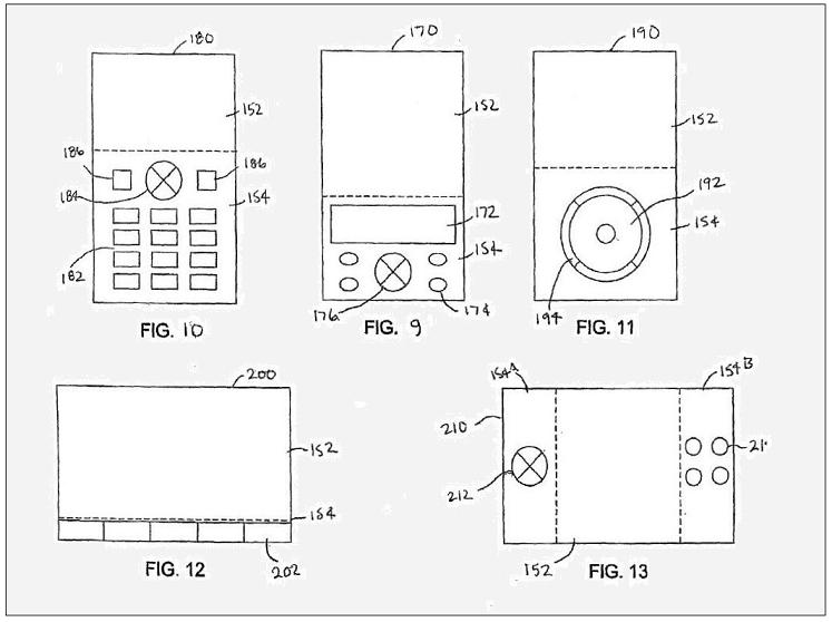 FIGS 9 TO 13 CLASSIS APPLE PATENT 70 PERCENT