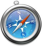 1B - SAFARI, APPLE BROWSER LOGO SMALLEST, 30 PERCENT