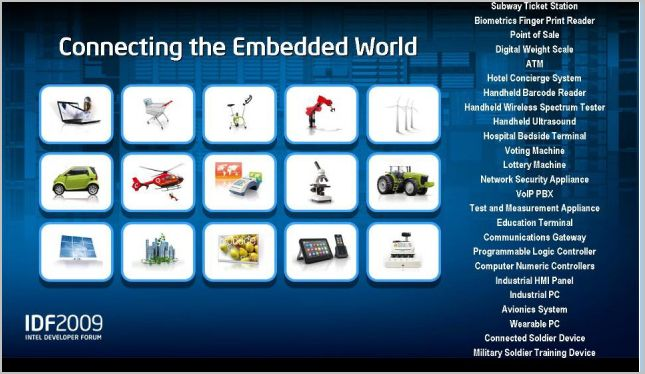 IDF - The embedded world